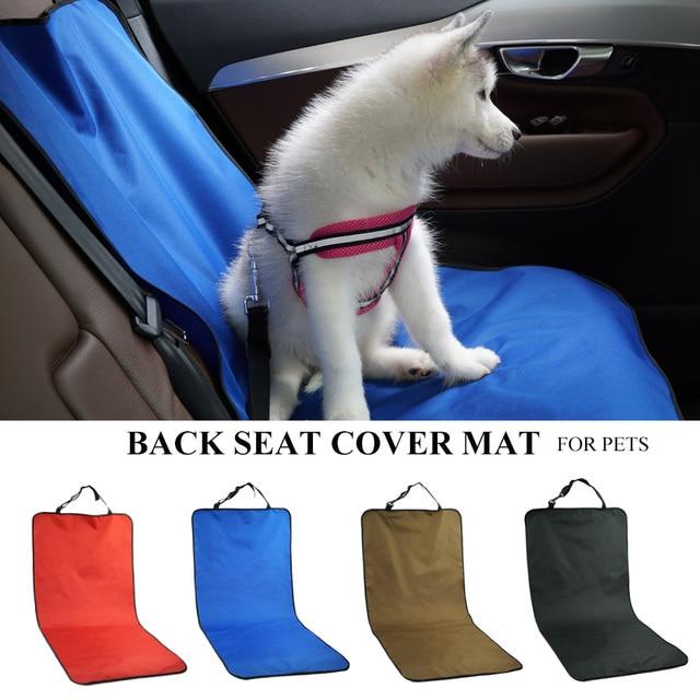 Car Waterproof Back Seat Pet Cover Protector Mat  1