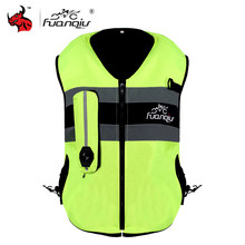 NEW Motorcycle Air-bag Vest Moto Racing Professional Advanced Air Bag System Motocross Protective Airbag Vest Jacket Body Armor