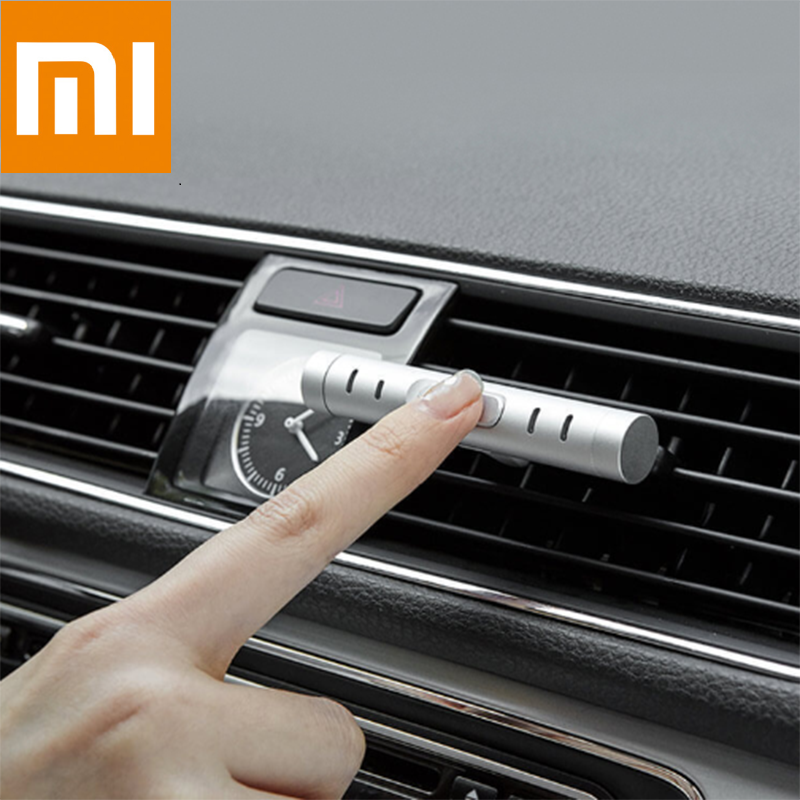 Xiaomi Mijia Guildford Car Fragrance Holder Incense Lemon/Orange/Olive Aromatic Wardrobe Aromatherapy For Car Air Purifier