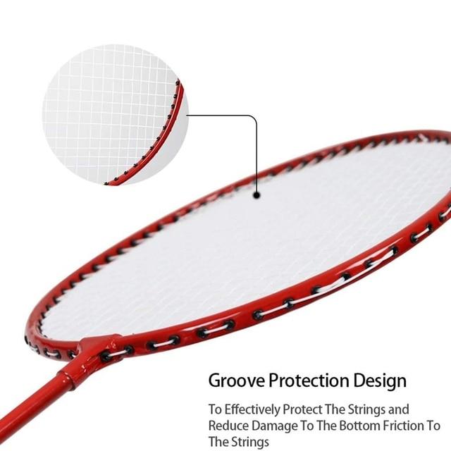 Badminton Racket Set  5