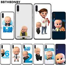 Cool Baby boss TPU Soft Silicone Phone Case Cover For Samsung A20 A30 30s A40 A7 2018 J2 J7 prime J4 Plus S5 Note 9 10 Plus(China)