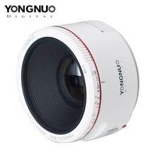 YONGNUO YN50mm F1.8 II Lens Large Aperture Auto Focus Lens with Super Bokeh Effect Lens for Canon EOS 70D 5D2 5D3 600D DSLR Len