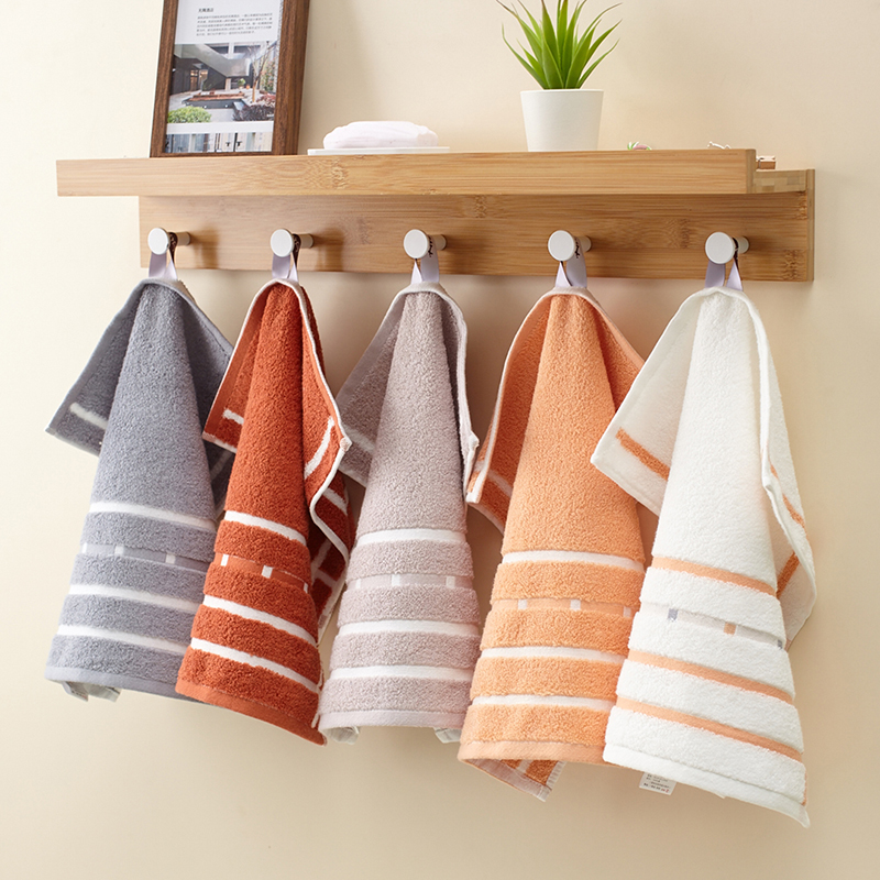 3pcs Packaged Pure square Cotton Hand Towel Thick FaceTowel Strong Water Absorbing 100 face Cotton Towel