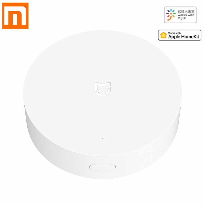 Xiao Mi Mi Jia Multi-mode Gateway Zigbee 3.0 Wifi Bluetooth Mesh Hub Voice Afstandsbediening Werkt Met Mi thuis App Apple Homekit