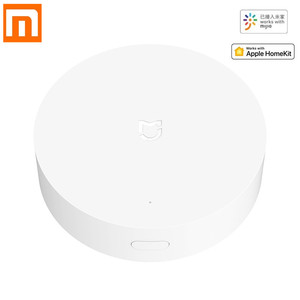 Xiaomi Mijia Multi-Mode Gateway ZigBee 3.0 WIFI Bluetooth Mesh Hub Voice Remote Control works With Mi Home APP Apple Homekit(China)