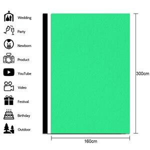 Image 3 - ZUOCHEN צלמניה תמיכה Stand ערכת 1.6x3m שחור/לבן/ירוק רקע מסך עם 2*2M סטודיו Stand עבור וידאו