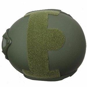 Image 4 - Tactical Bulletproof FAST Helmet NIJ Level IIIA 3A Aramid High Cut Ballistic Helmets ISO Certified Military Paintball Equipment