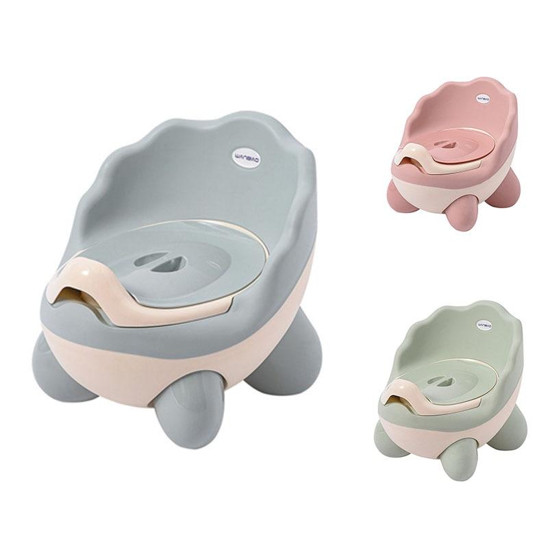 Baby Potty Toilet Seat Bowl Portable Training Baby Potty Kids Bedpan Comfortable Backrest Toilet Girls Boys