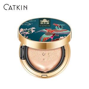 Image 1 - CATKIN BB крем, воздушная подушка, основа для макияжа, влагостойкий натуральный чехол, консилер + Бесплатный сменный средний Светильник 0,46 унций