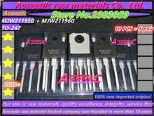 Aoweziic 2018 + (10 PCS = 5 pair) 100% nuovo originale importato MJW21195 MJW21196 MJW21195G MJW21196G TO 247 amplificatore di potenza del tubo