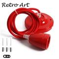 Винтажный керамический шнур для подвесного светильника  набор E27 декоративного светильника