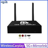 Car Wireless Carplay Mobile Phone Interconnection Mirror link 5G Dual band Wireless WIFI Car Box