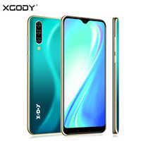 XGODY Nota 7 Smartphone Dual Sim Celular 6.26 ''Waterdrop Dello Schermo di Android 9.0 2GB 16GB Quad Core 2800mAh Viso ID 3G Del Telefono Mobile