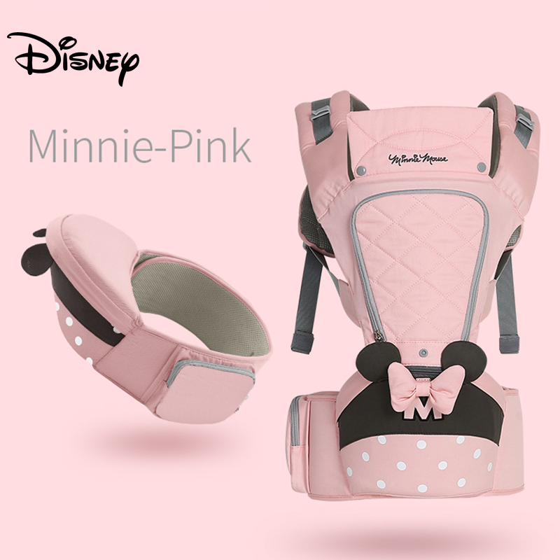 Disney Ergonomic Baby Carrier Backpack Infant Sling Toddler Waist Wrap Carrier Baby Holder Kangaroo Hipsit Mickey Minnie Gear