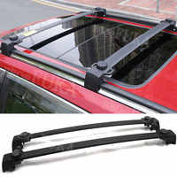BBQ@FUKA Car Roof Aluminum Exterior Baggage Luggage Rack Crossbar Overhead For Jeep Compass 2011-2016 Accessories Car Styling