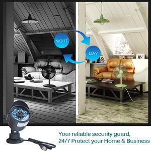 Image 3 - JOOAN 8CH DVR videoregistratore CCTV 4PCS 1080P sicurezza domestica impermeabile visione notturna kit di sorveglianza del sistema di telecamere di sicurezza