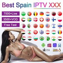 Europe IPTV XXX Adult Subscription 1 Year Poland Portugal Android Box Smart tv Code IPTV Spain M3U XXX Israel Greek Chile IP TV poland chile