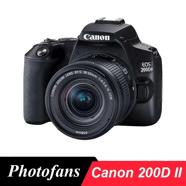 Canon 200D II (250D Rebel SL3) DSLR камера с объективом 18-55 мм
