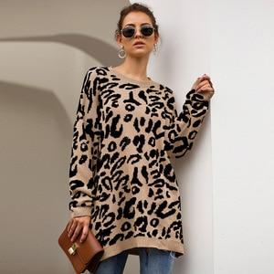 Модный однотонный зимний свитер; Повседневный Свободный пуловер Feminino с круглым вырезом и длинными рукавами; Осенняя вязаная одежда