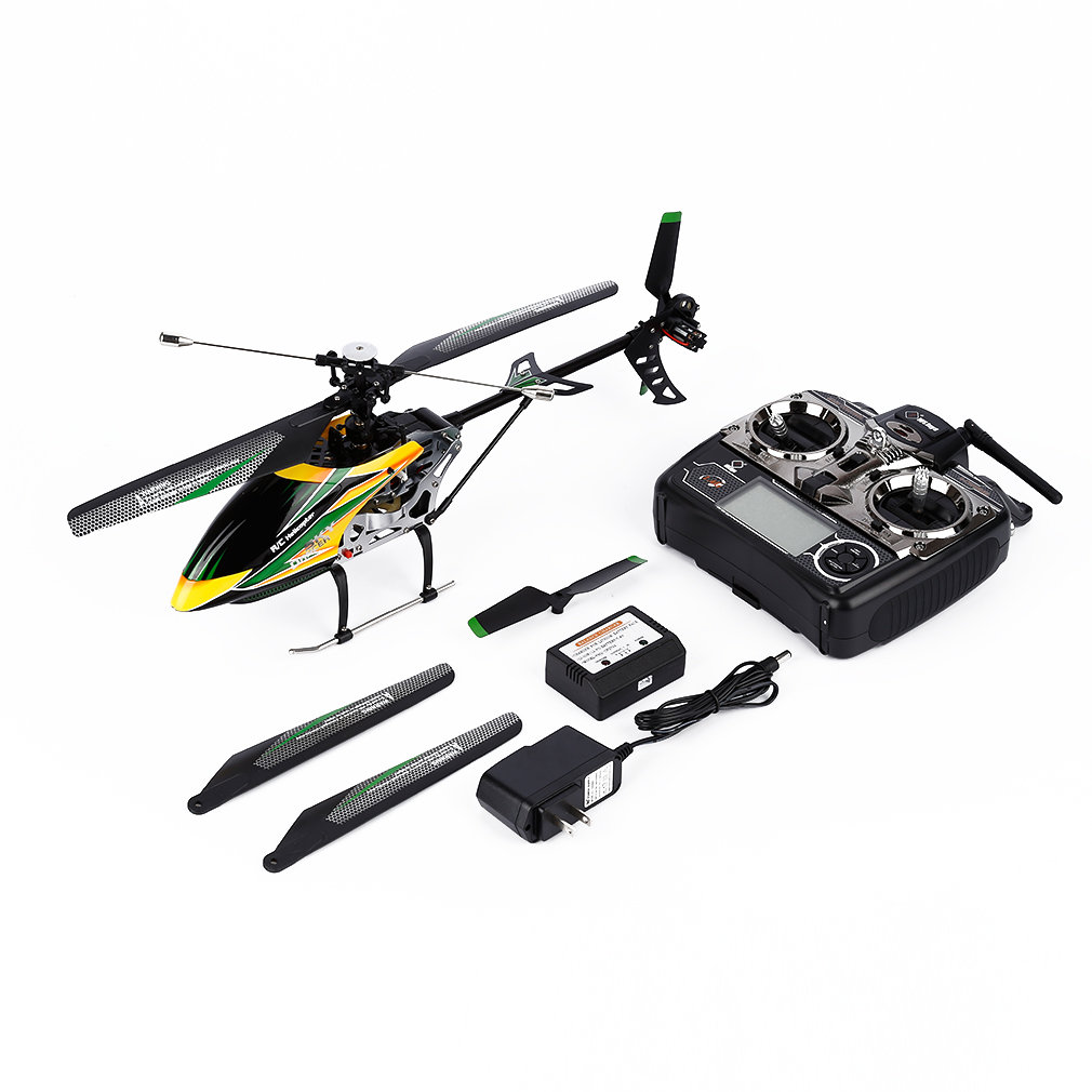 WLtoys V912 4 Channel Equipped With 2.4G LCD Remote Control Helicopter Remote Control Aircraft High Quality 2019 Hot New