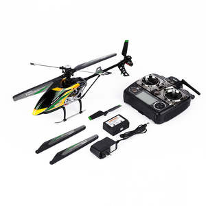 Equipped Helicopter Remote-Control-Aircraft V912 High-Quality with LCD 4-Channel Wltoys