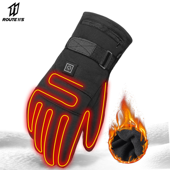 Waterproof Motorcycle Gloves Heated Guantes Moto Heating USB Hand Warmer Electric  Battery Powered Thermal Heated Gloves electric thermal gloves winter usb hand warmer cycling motorcycle bicycle ski gloves rechargeable battery heated gloves