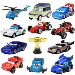 Samochody disney pixar 2 3 zabawki zygzak McQueen Matt Jackson Storm Ramirez 1:55 stop zabawka Pixar odlewanie kokilowe metali samochód zabawka dziecięca na prezent