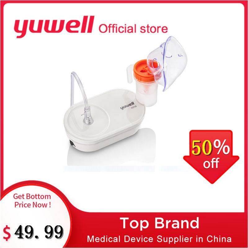 Yuwell 405B Compressor de nebulizador De Ar-comprimido Respirador Nebulizador Inalação Atomizador Vapor Dispositivos