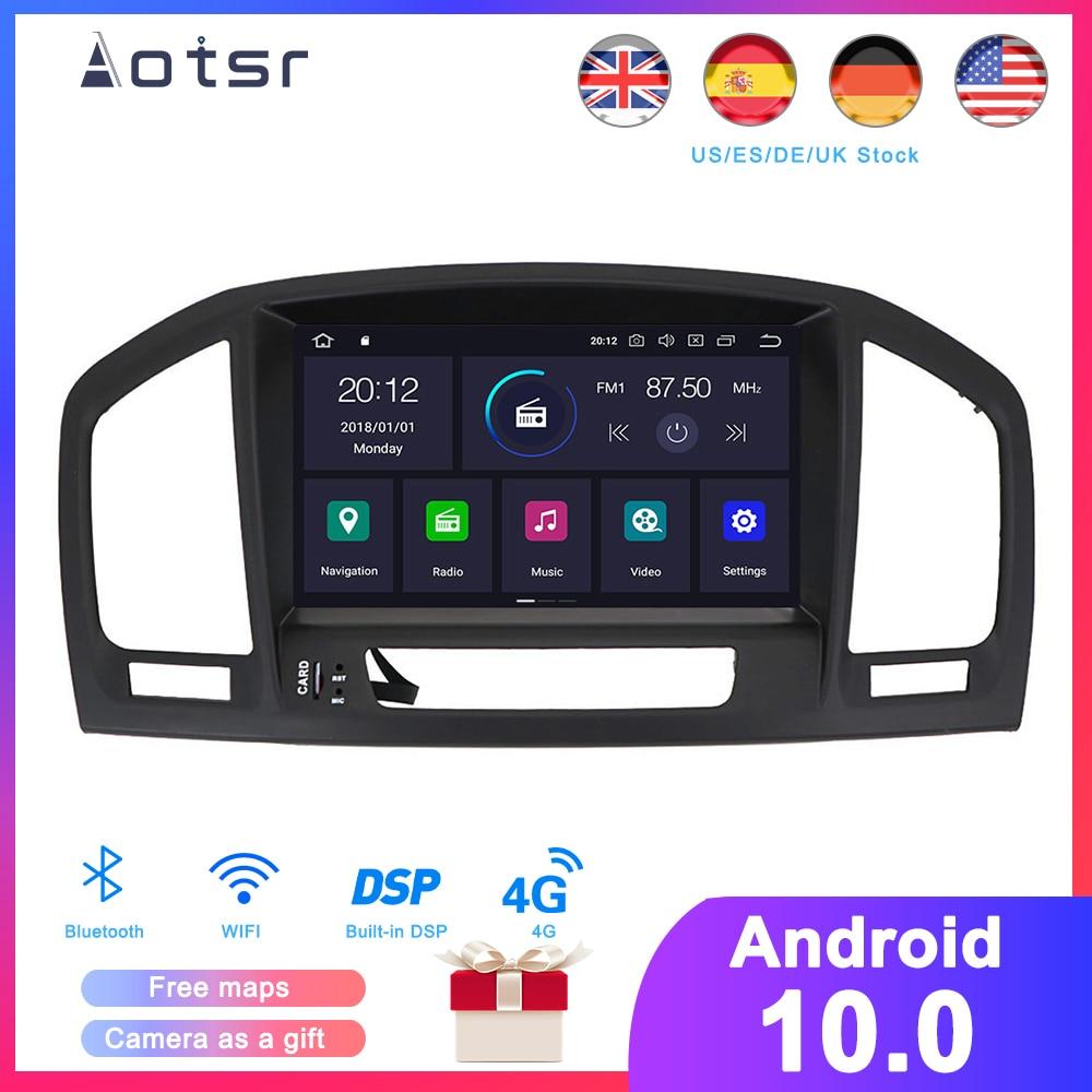 DSP Android 10.0 Car DVD Player GPS Navigation For Opel Insignia 2008 2009-2013 Auto Radio Multimedia Player Satnav Head Unit