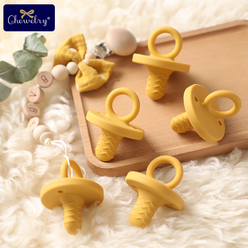 Children Baby Bee Teether Wooden Teething Accessory Pendant Nursing Toy LH