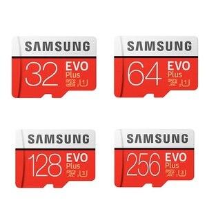 Image 2 - سامسونج EVO Plus بطاقة الذاكرة 8GB/32GB/SDHC 64GB/128GB/256GB/SDXC مايكرو SD TF بطاقة Class10 Microsd C10 UHS 1 بطاقات 100% الأصلي