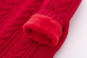 Image 5 - เด็กทารกถักฤดูหนาว WARM ทารกแรกเกิด Bebes แขนยาว Jumpsuits ชุดสีทึบเด็กทารก Overalls เด็กเครื่องแต่งกาย