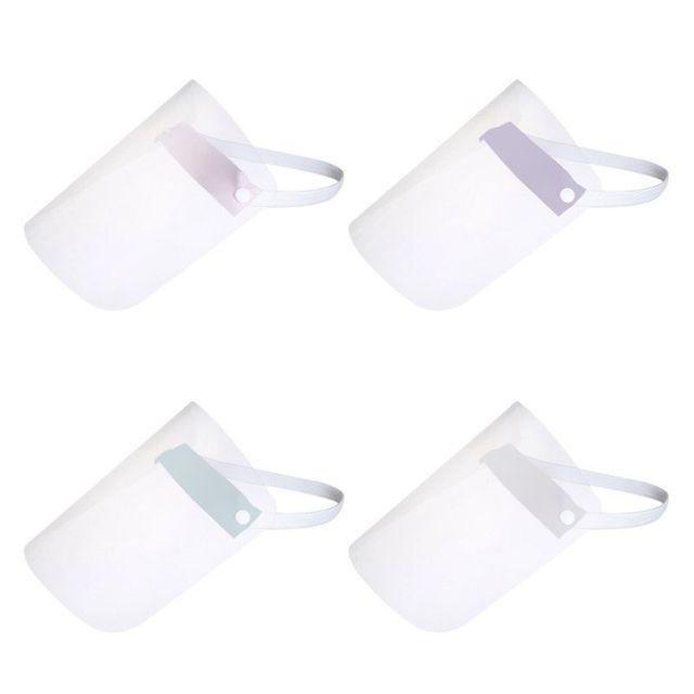 Portable light Transparent Anti-saliva Dust-proof Protect Full Face Covering Mask Visor Shield Protection Masks 1
