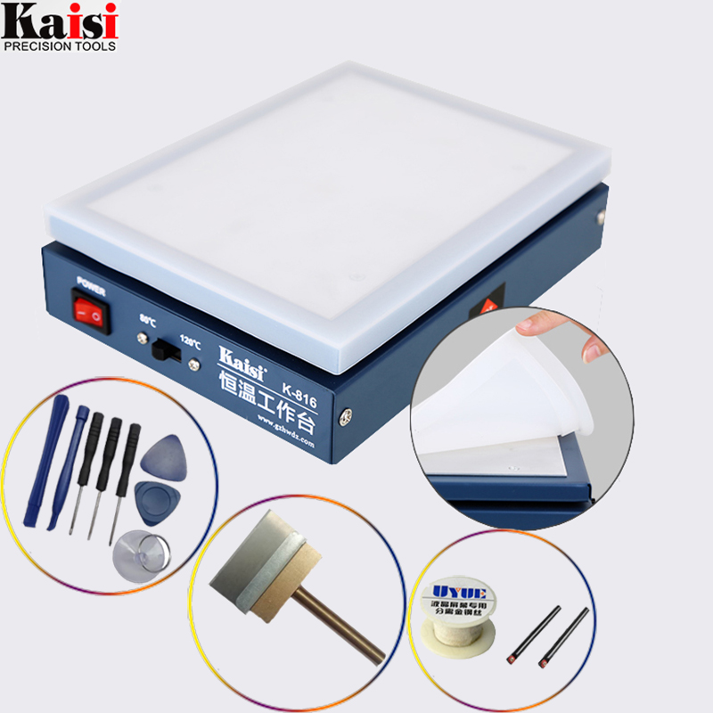 7 inchThermostat Preheating Station Kaisi K-816 Mobile Phone LCD Screen Open Separator Machine Circuit Board Desoldering Station