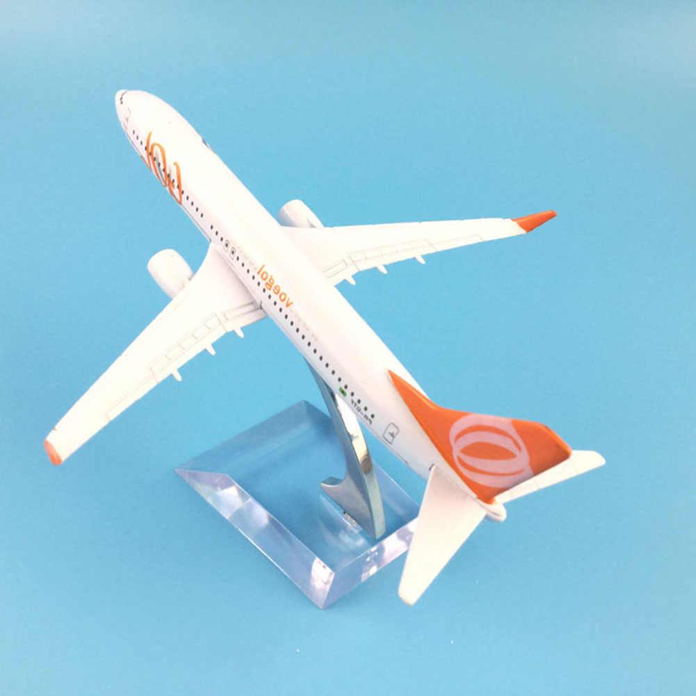liuqingwind 1/400 Brazil Air GOLs Airlines Boeing B737-800 Plane ...