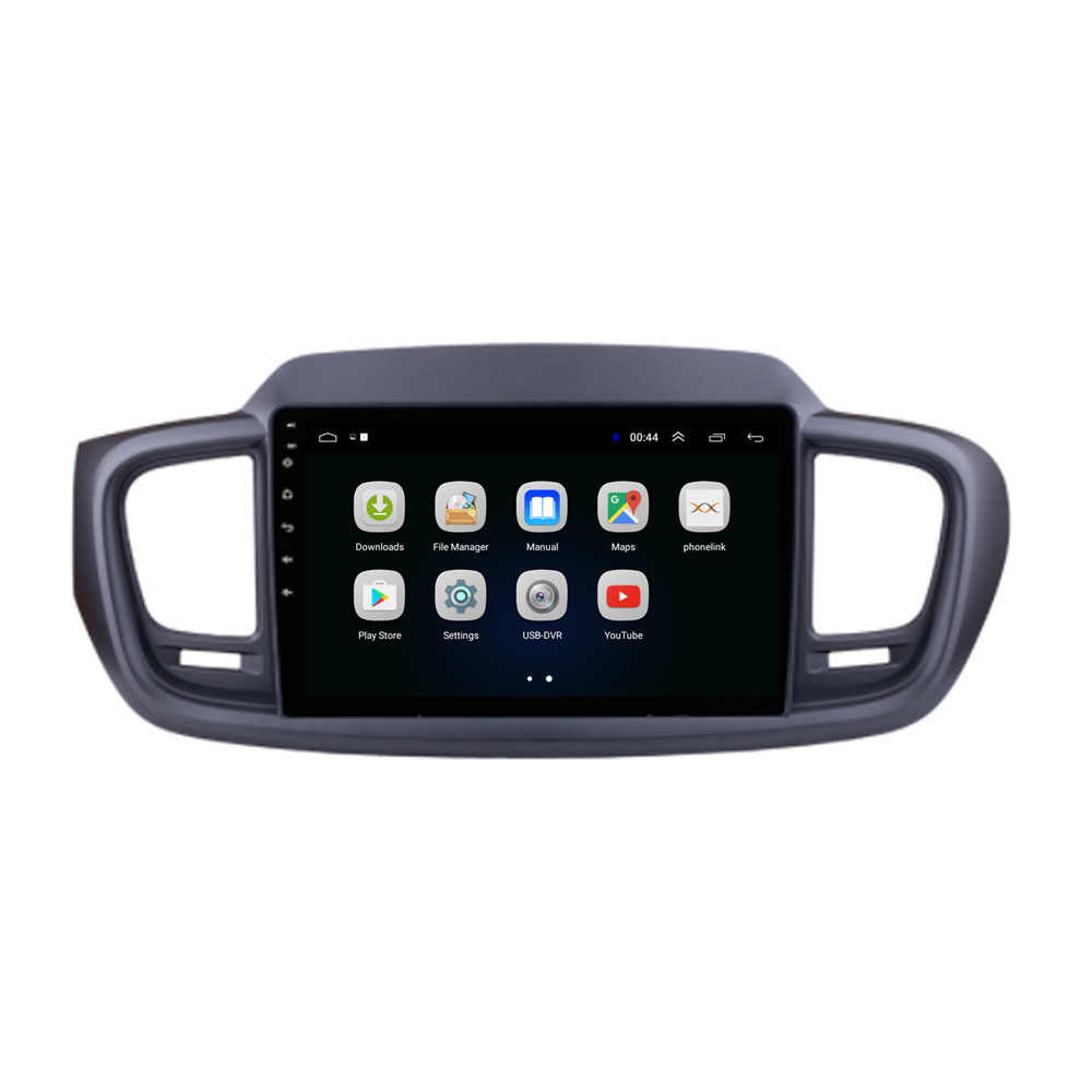 4G LTE أندرويد 10.1 لكيا سورينتو 2015 الوسائط المتعددة ستيريو مشغل أسطوانات للسيارة لاعب الملاحة راديو GPS