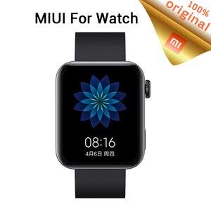Image 1 - Xiao mi mi relógio inteligente gps nfc wifi esim telefone chamada pulseira relógio de pulso esporte bluetooth fitness freqüência cardíaca mi bluetooth relógio