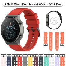 Ремешок силиконовый для Huawei Watch GT 2 Pro 46 мм, сменный Браслет GT2E для наручных часов Huami Amazfit GTR 47 мм, 22 мм