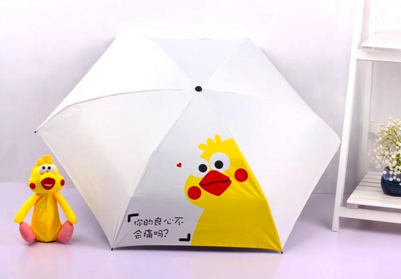 LIKE RAIN Mini Umbrella Mulheres Guarda-chuva de