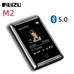 Image 1 - RUIZU M2 Bluetooth MP3 נגן מלא מגע מסך 8GB 16GB נייד אודיו נגן מוסיקה עם FM רדיו הקלטה ספר אלקטרוני נגן וידאו