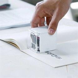Mini Abnehmbare Handheld Farbe Drucker USB Wireless Bluetooth Tragbaren Drucker Die weltweit Kleinste Mobile Farbe Drucker