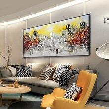 Абстрактная живопись современное настенное искусство холст картины