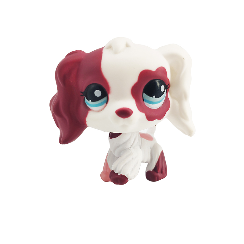 FGHGF NEW LPS Pet Shop Collection Figure Collie Dog Cat Squirrel Ribbat Animals Loose Cute Kid Toys Figure Gift Y19052203