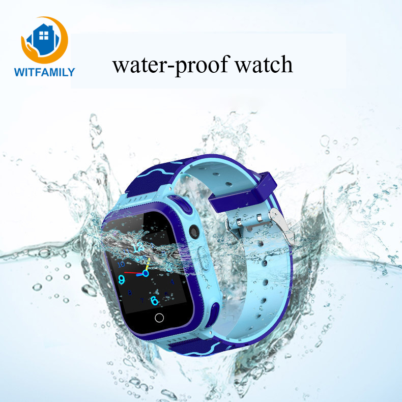 Children's Watch Smart Waterproof Touch Voice Video Call GPS Multi-function Watchs