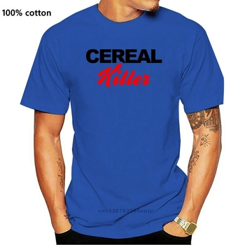 Boardrippaz T Shirt Cereal Killer Serial Ted Bundy Jeffrey Dahmer Charles Manson Short Sleeve T-shirt Tops image