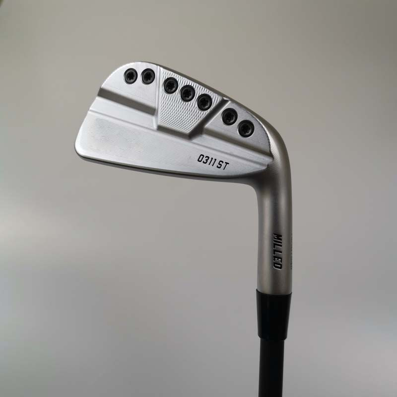OEM Golf Clubs 0311ST Silver Golf Irons Set 3-9W 8pes Graphite Or Steel Shaft With Head Cover Free Shipping