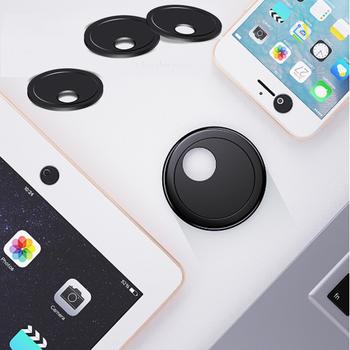 Zasłona na kamęrę Circular Rotate Cache Webcam suwak pokrowiec kamery prywatność Shutter Antispy naklejka na kamera internetowa iPad PC tablet telefon tanie i dobre opinie raugee ROUND universal