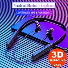 Neckband Bluetooth Headphones Stereo Headset Wireless Bluetooth Earpho