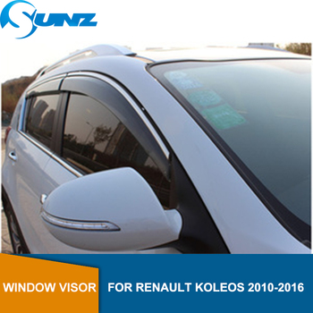 Window Deflector Visor For Renault Koleos 2010 2011 2012 2013 2014 2015 2016 Sun Shade Awnings Shelters Guards accessories SUNZ