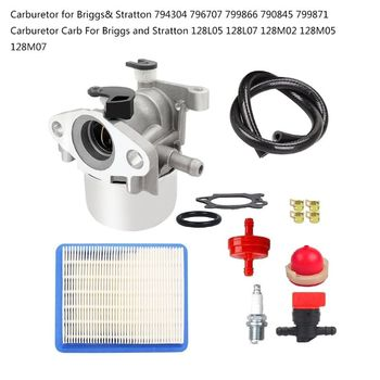 Carburetor Tune-up kit with Air Fuel Filter  Air Fuel Filter 794304 796707 79986 N1HF c1m w26 carburetor with 530057925 air filter fuel line filter tune up kit for poulan p3314 p3416 p3816 p4018 pp3416 pp35